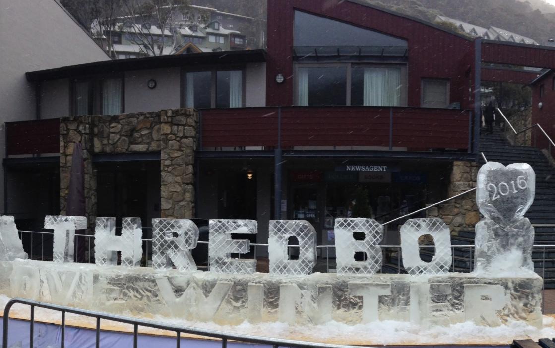 Thredbo Ice sculpture