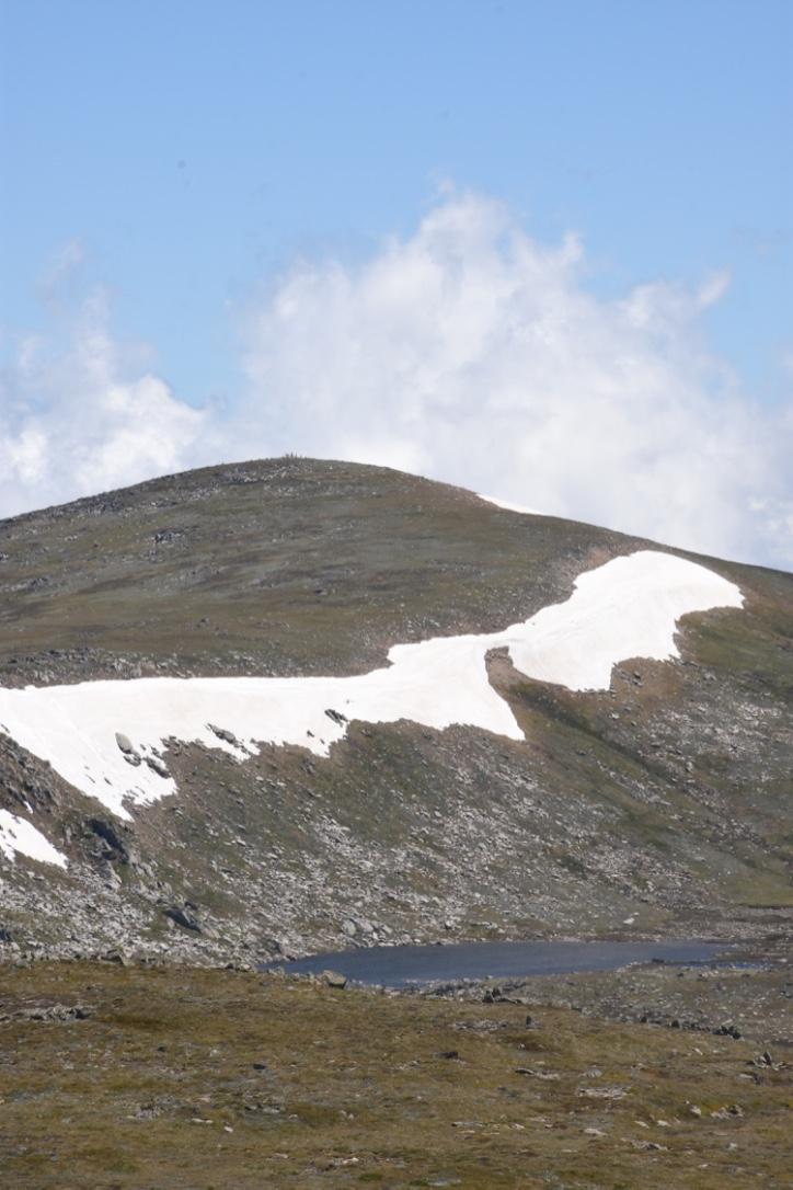 Mt Kosciuszko seen from Ramshead peak
