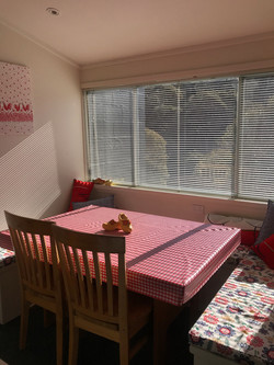 Sunny kitchen nook