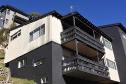 Sunny top level apartment!