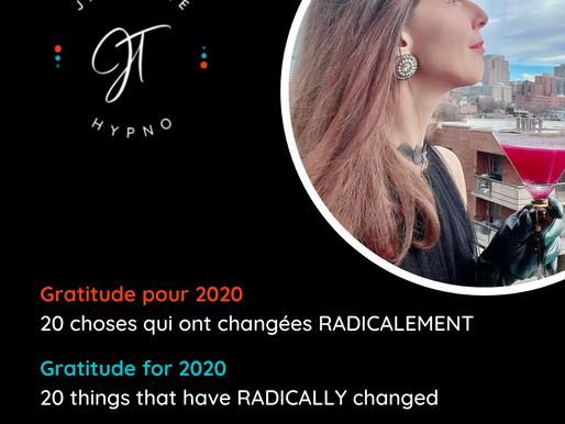 20 choses qui ont changées en 2020