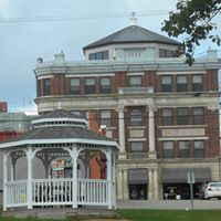 Monroe Bank & gazebo, Woodsfield