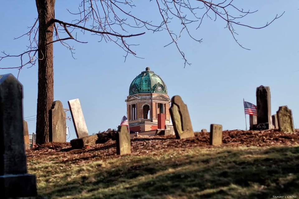 Pioneer Cemetery and MC Courthouse