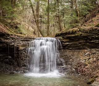 Piatt Park waterfall Mark Gallagher