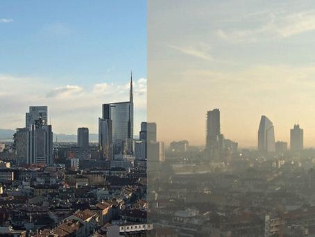 Inquinamento a Milano, come ridurlo grazie al parking sharing di Spotter