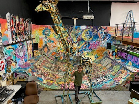 MAPPING OUT PUBLIC ART PROJECTS FROM MURALS TO SCULPTURE