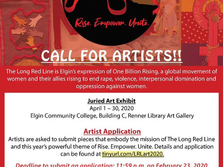 Juried Art Exhibit at Elgin Community College  -- Call for Entries