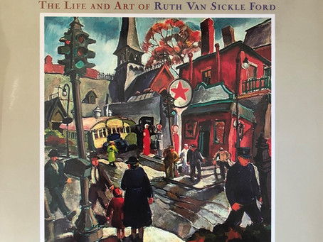 """Warm Light, Cool Shadows"" by Nancy Smith Hopp Heralds Influential Artist, RUTH VAN SICKLE FORD"