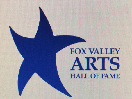 New Date/Fox Valley Arts Hall of Fame