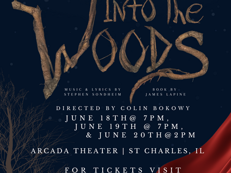 Marquee Youth's Conservatory Presents  INTO THE WOODS June 18-20 at Arcada Theater, Get Tix!