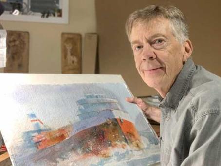 Meet Award-Winning Watercolor Artist, Dan Danielson of Wheaton, IL