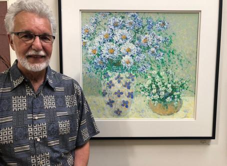 Oil Pastel Artist, George Shipperley