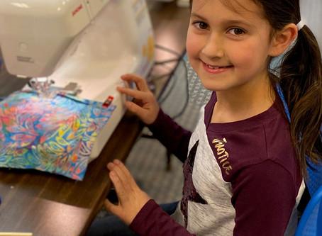 Aubrey, age 8