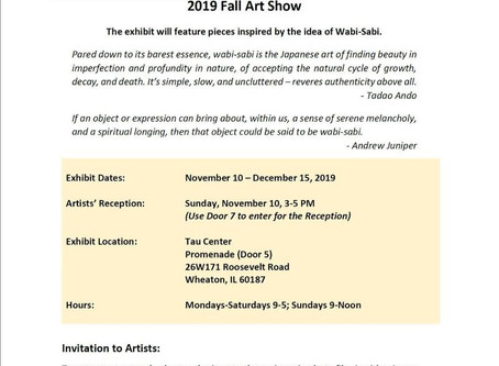 Call for Art Entries/10/28/19 Deadline