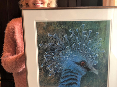 St. Charles, IL Artist Inspired by Wildlife