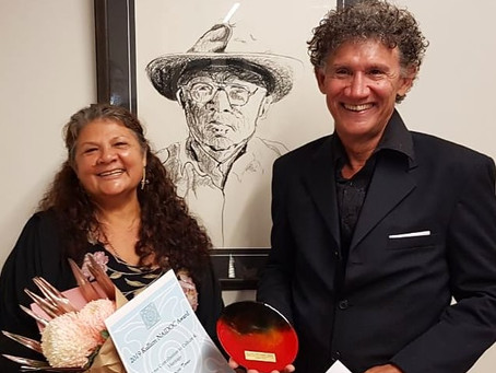 Blast from the past- Mayi Harvests won the NAIDOC lifetime contribution to culture & heritage award