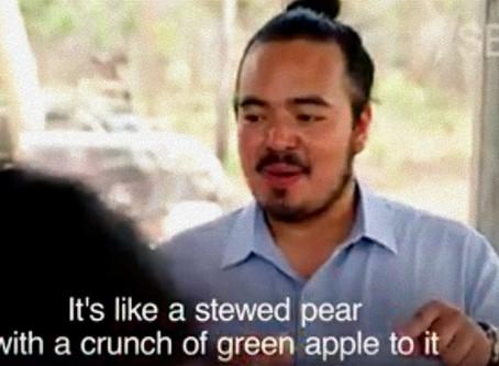 Mayi Harvests meets Adam Liaw and introduces him to Kakadu Plum Fruit  (aka Gubiny)