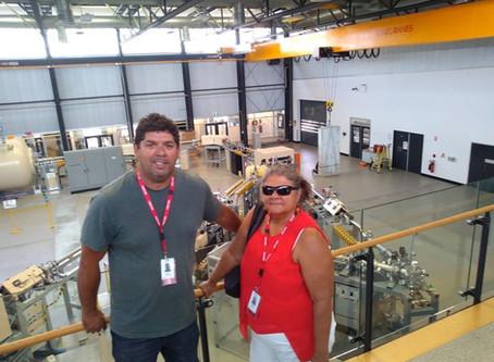 Mayi Harvests & NAAKPA visits ANSTO laboratories