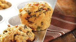 basil-pesto-muffins using Mayi Harvests