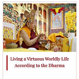 Living a Virtuous Worldly Life According