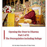Opening the Door to Dharma Part 1 of 2 _