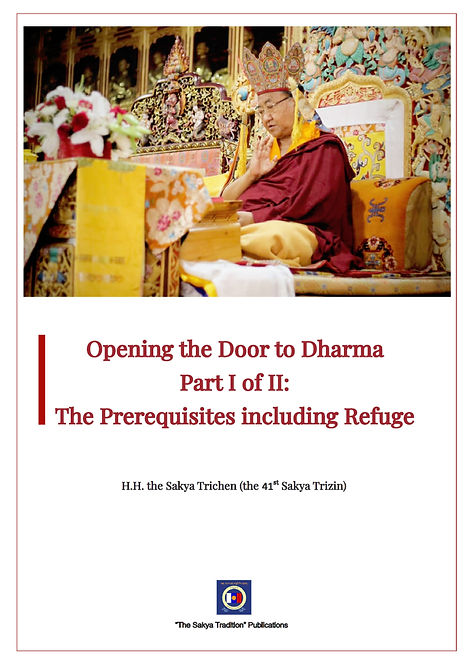 Opening the Door to Dharma Part 1 of 2 _