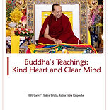 Buddha Teachings Kind Heart and Clear Mi