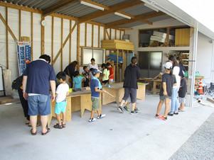 木工教室開催