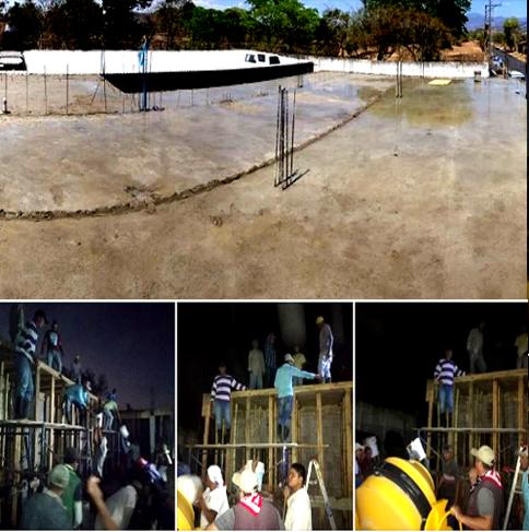 Reconstrucción de la casa del pueblo, Chalatenango