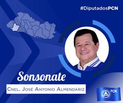 DIPUTADO ELECTO SONSONATE ANTONIO ALMENDARÍZ