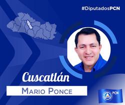 DIPUTADO ELECTO DE CUSCATLÁN MARIO PONCE