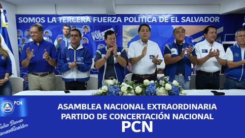 Asamblea Nacional Extraordinaria PCN