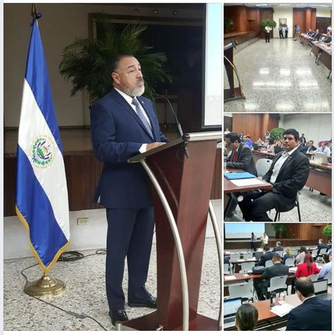 Palabras del Diputado  Francisco Merino  en Asamblea Legislativa de El Salvador #CFinancieraAL.