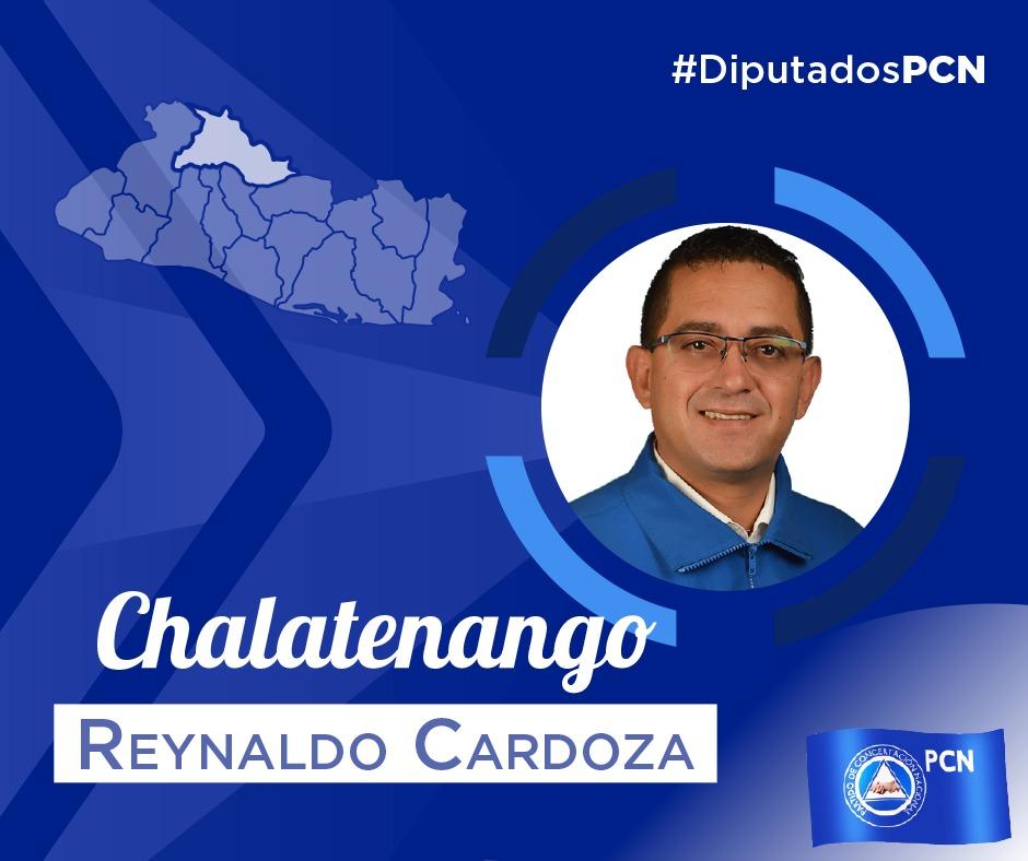 DIPUTADO ELECTO POR CHALATENANGO REYNALDO CARDOZA