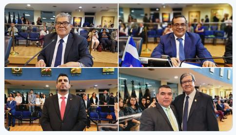 En desarrollo, la Sesión Plenaria No. 85 @AsambleaSV