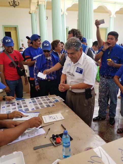 ELECCIONES INTERNAS EN LA LIBERTAD PCN