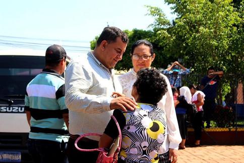 Celebración a las madres en el municipio de Guazapa