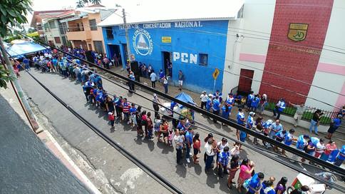 ELECCIONES INTERNAS AHUACHAPÁN PCN