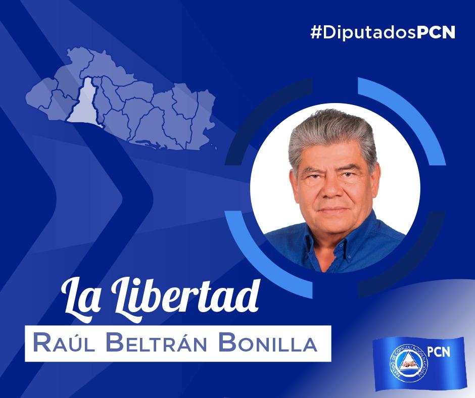 DIPUTADO ELECTO DE LA LIBERTAD RAÚL BELTRÁN BONILLA