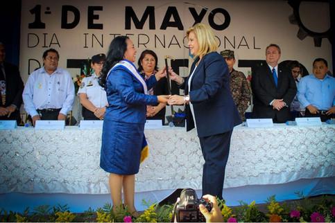 Lili Bello de Perdomo Alcaldesa de Cojutepeque por el PCN