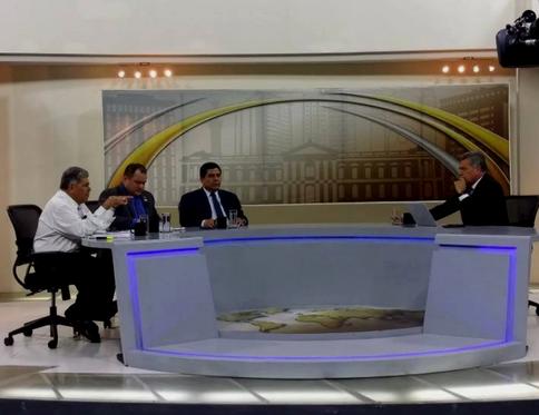 #Entrevista con #DiputadoPCN Raúl Belthrán Bonilla en programa Frente a Frente.