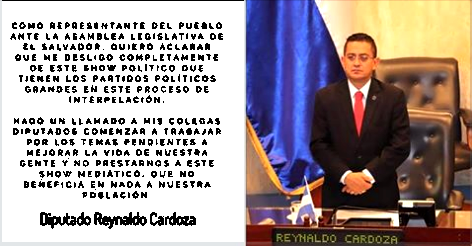 Diputado Reynaldo Cardoza
