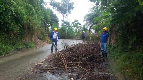 Alcalde de Candelaria Cuscatlán de #PCN alerta por daños en dicho municipio.