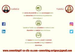 CO-CLIC-CO, tiers-lieu, coworking, espace de travail, salle de réunion, salle privative, internet, w