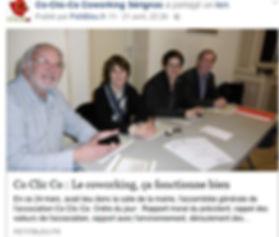 CO CLIC CO, coworking, tiers lieu, Sérignac sur Garonne, Lot et Garonne, 47, Aquitaine, espace de travail, bureau, salle de réunion, wi fi