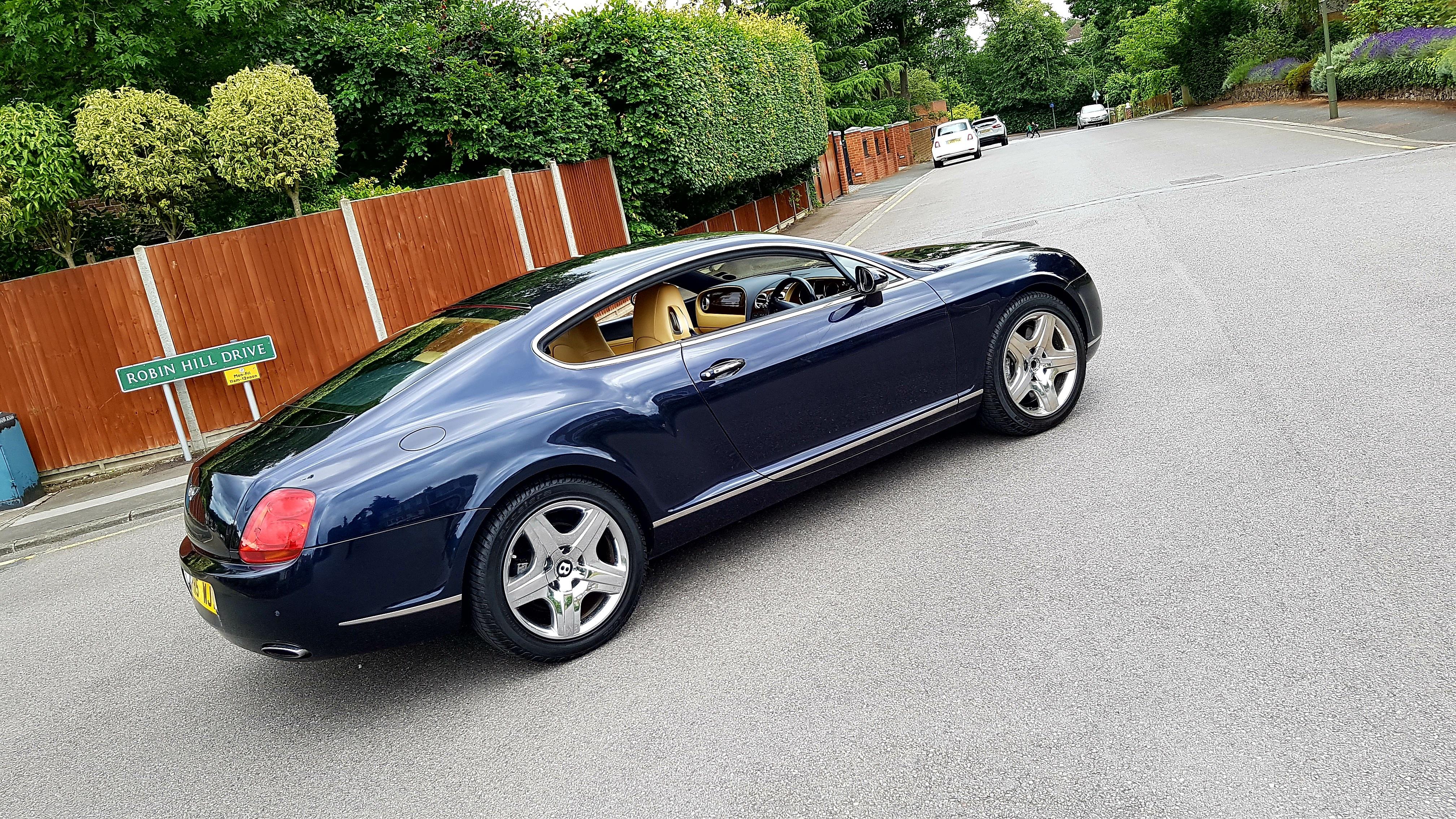 026 Bentley Continental Dark Blue Empireassets