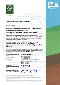 FSCcertificate - Mourne Timber Soloution