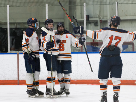 Jacobs' Hat Trick Propels Syracuse Over Delaware 6-4