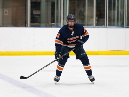How Lucas Prestamo Is Stepping Up, on and off the Ice