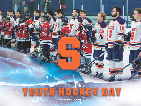 Syracuse to Host Salmon River Squirts at Youth Hockey Day